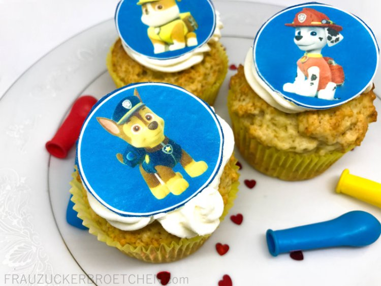 Haferflocken_Zitronen_Joghurt_Cupcakes2_Geburtstagsvorbereitungen_Kindergeburtstag_FrauZuckerbroetchen