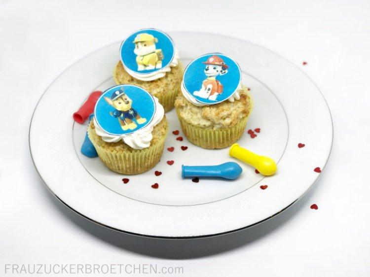 Haferflocken_Zitronen_Joghurt_Cupcakes_Geburtstagsvorbereitungen_Kindergeburtstag_FrauZuckerbroetchen