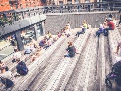 Der High Line Park_Amphitheater3_Frau Zuckerbrötchen