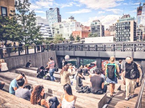 Der High Line Park_Amphitheater_Frau Zuckerbrötchen