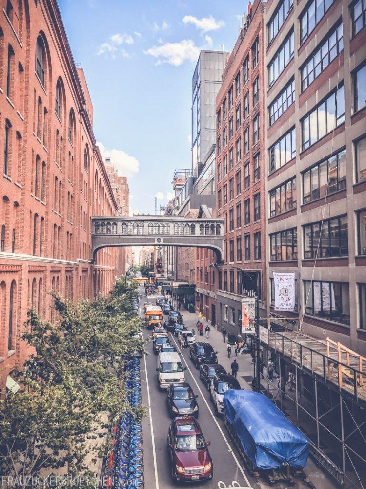 Der High Line Park_Blick in die Stadt2_Frau Zuckerbrötchen
