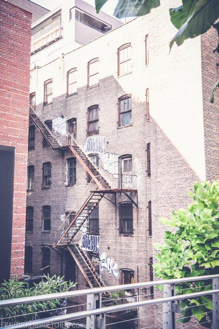 Der High Line Park_Blick in die Stadt4_Frau Zuckerbrötchen