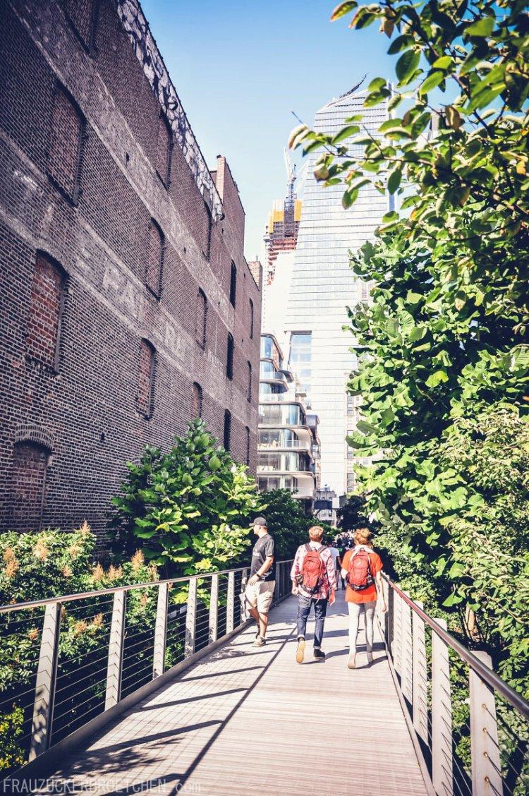 Der High Line Park_Die stillgelegte Hochbahntrasse im Manhattans Westen_Frau Zuckerbrötchen