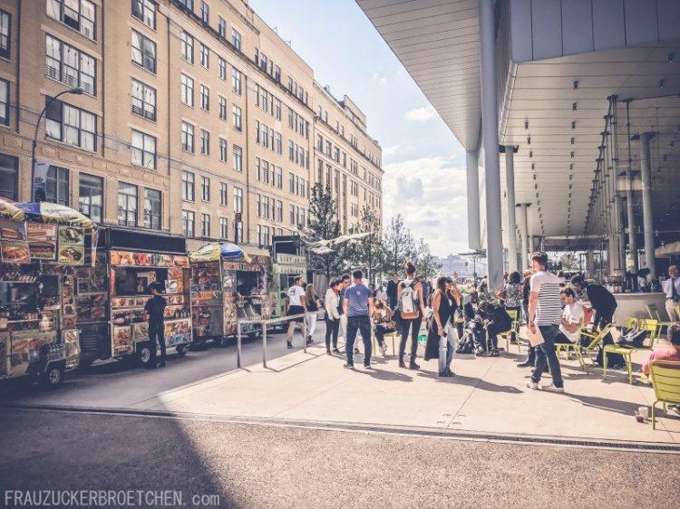 Der High Line Park_Die stillgelegte Hochbahntrasse im Manhattans Westen_Start Washington St4_Frau Zuckerbrötchen