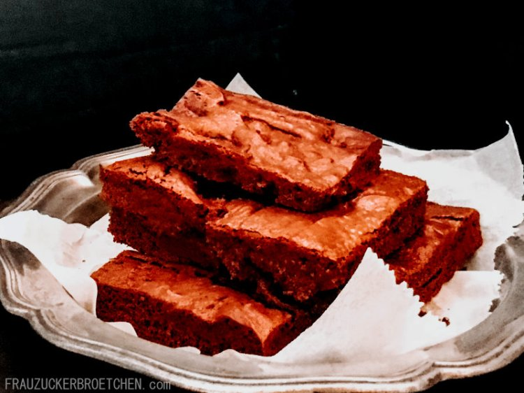 Original American Brownies Frau Zuckerbroetchen13