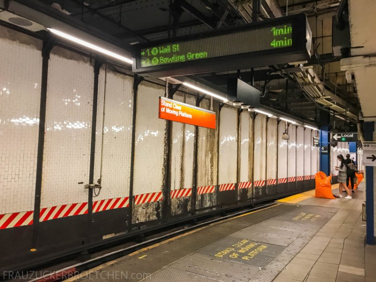 New Yorker Metro durch meine Linse11_ Herbst 2017