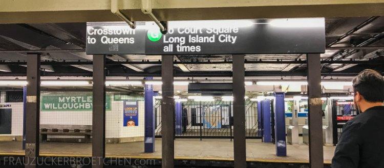 New Yorker Metro durch meine Linse14_ Herbst 2017