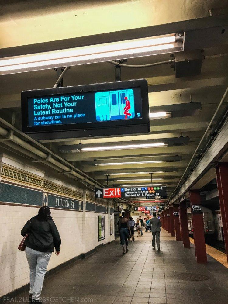 New Yorker Metro durch meine Linse16_ Herbst 2017