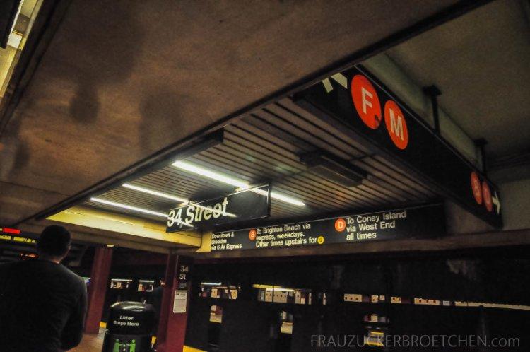 New Yorker Metro durch meine Linse8_ Herbst 2017
