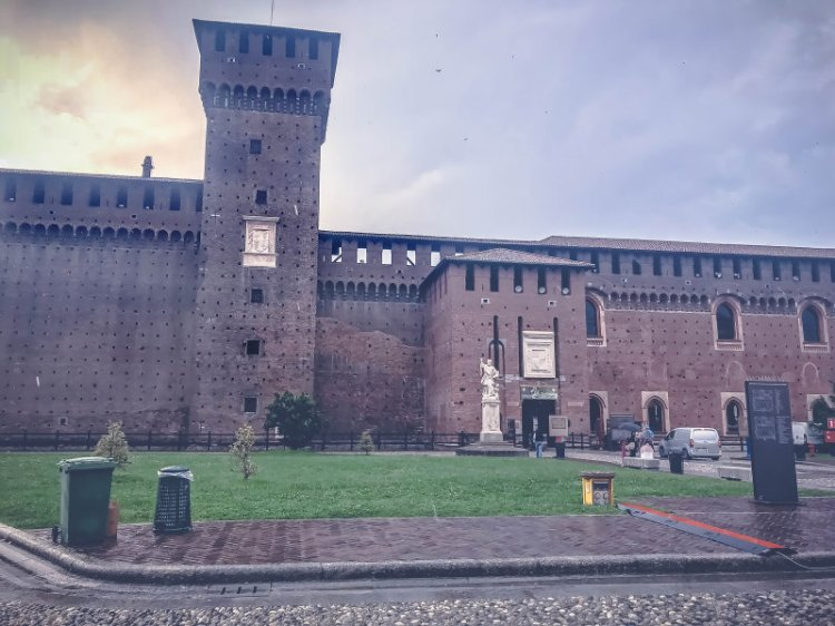 Castello Sforzesco_Mailand_2
