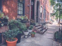 Die hübschen Straßen von Philadelphia